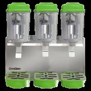 Triple Bowl Juice Dispenser