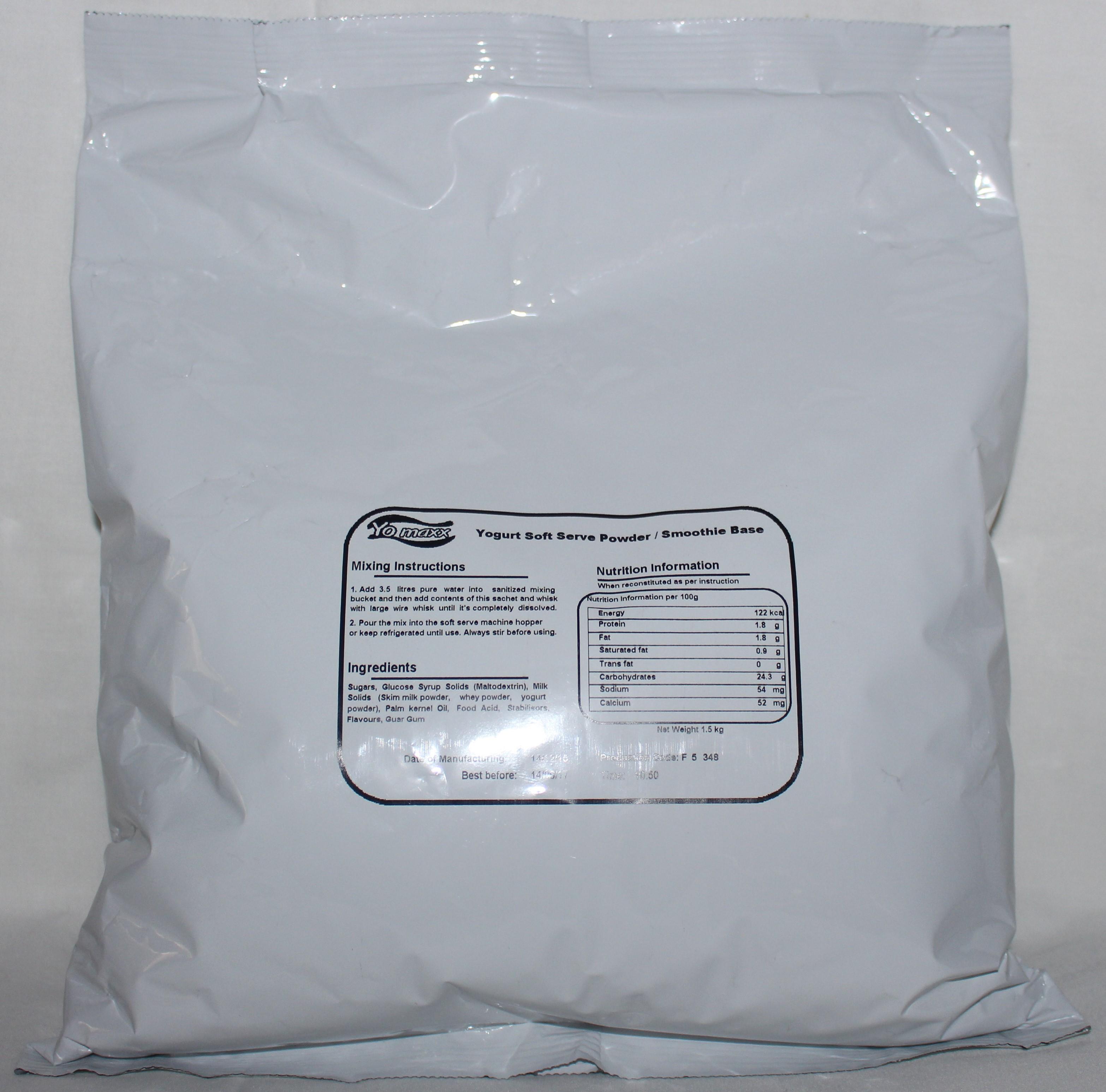 Soft Serve Powder Box (8 x 1.5kg)